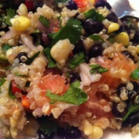 Black Bean, Quinoa, & Citrus Salad