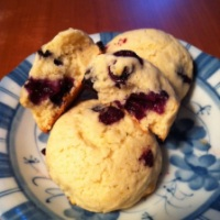 Blueberry Muffin Top Cookies