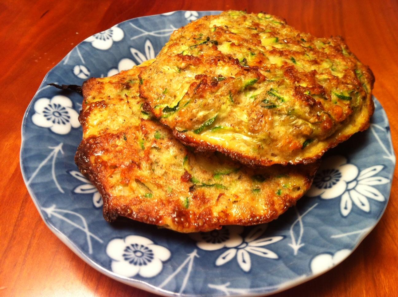 Savory Zucchini Cakes