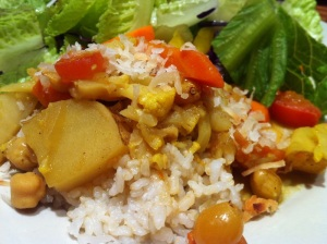 Banana Leaf Vegetable Curry
