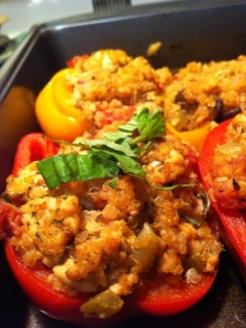 Savory Turkey Stuffed Peppers