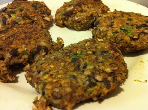 Black Bean Pumpkin Patties
