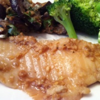 Ginger and Sesame Baked Tilapia