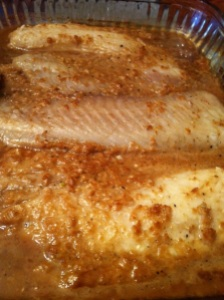 Ginger and Sesame Tilapia Fish