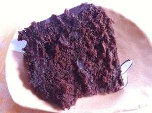 Decadent Chocolate Cake with Chocolate Ganache Frosting