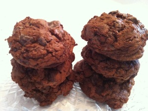 Rich Chocolate Brownie Cookies