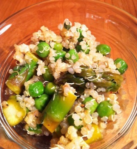 Springtime Quinoa Salad (A Seat at the Table)