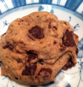 Vegan Chocolate Chunk Cookies (A Seat at the Table)