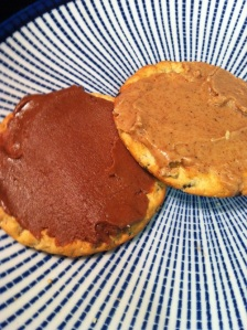 Cocoa Almond Butter and Honey-Vanilla Almond Butter (A Seat at the Table)