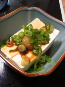 Ginger-Scallion Cold Tofu (A Seat at the Table)