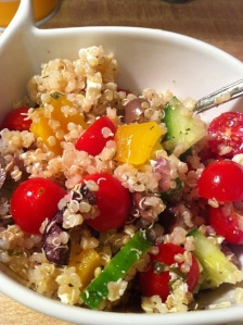 Mediterranean Quinoa Salad (A Seat at the Table)