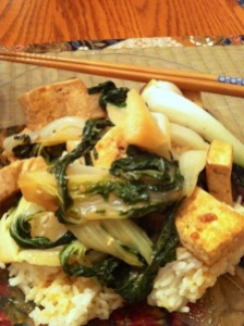 Miso Glazed Tofu and Bok Choy (A Seat at the Table)