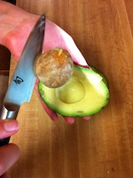 Cutting an Avocado 3 (A Seat at the Table)