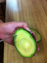 Cutting an Avocado 4 (A Seat at the Table)