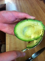 Cutting an Avocado 5 (A Seat at the Table)