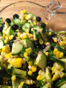 Blueberry Corn Salad (A Seat at the Table)