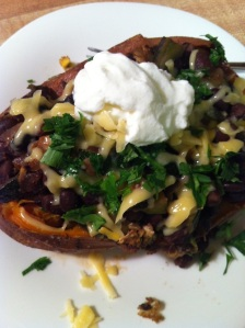 Southwest-Style Stuffed Sweet Potato (A Seat at the Table)