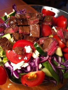 Steak and Blue Cheese Salad (A Seat at the Table)