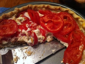 Tomato-Goat Cheese Tart (A Seat at the Table)
