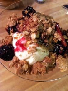 Fresh Blackberry-Plum Crisp (A Seat at the Table)