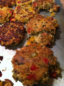 Holy Trinity Salmon Cakes (A Seat at the Table)