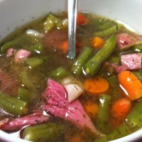 Ham and Green Bean Soup