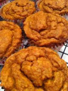 Pumpkin Pie Spice Muffins (A Seat at the Table)