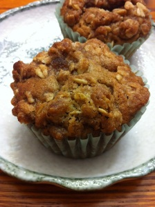 Apple Crisp Muffins (A Seat at the Table)