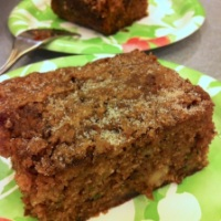 Cinnamon Sugar Apple Zucchini Cake