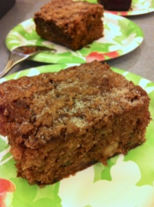 Cinnamon Sugar Apple Zucchini Cake (A Seat at the Table)