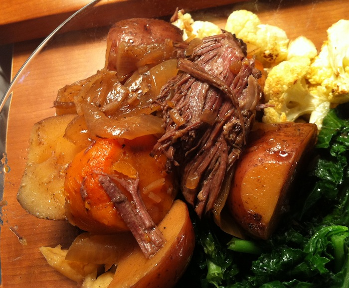how to cook roast beef with water