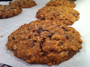 Fall Harvest  Oatmeal Cookies (A Seat at the Table)