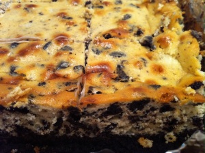 Oreo Cheesecake Bars (A Seat at the Table)