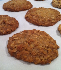 Brown Sugar Oatmeal Cookies (A Seat at the Table)