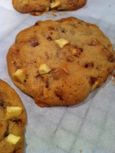 Caramel Apple Cookies (A Seat at the Table)