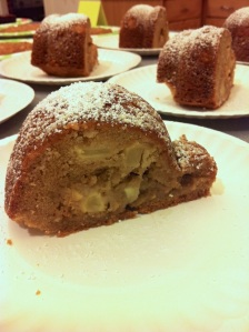 Fresh Apple Bundt Slice (A Seat at the Table)