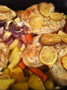 Lemon-Rosemary Roasted Chicken Breasts (A Seat at the Table)