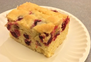 Cranberry Buttermilk Cake (A Seat at the Table)